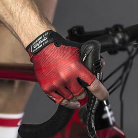 GripGrab Rouleur Padded Short Finger Gloves Red